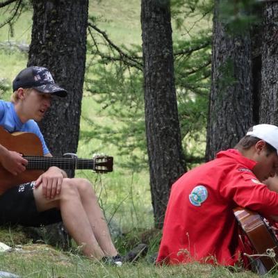 camp à Valpreveyre du 16 au 29 juillet 2018